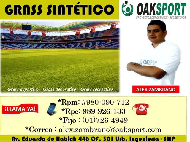 Grass sintetico deportivo - oak sport