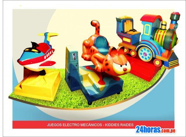 Juegos mecanicos (kiddie raidres)