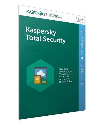 Licencia kaspersky total security 5 pc 1 año 2018