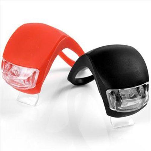 Luces led de bicicleta par rojo y negro