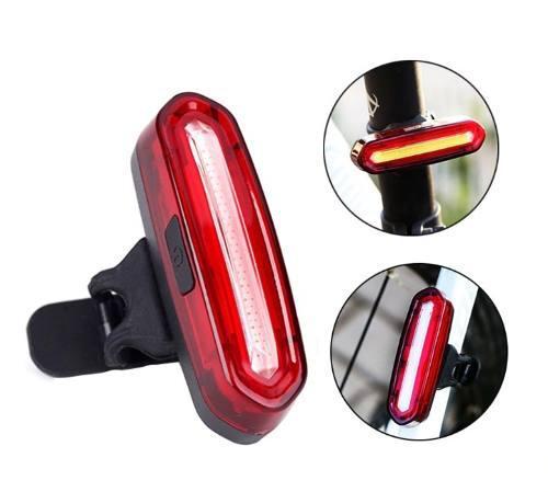Luces para bicicleta recargables led rojo usb