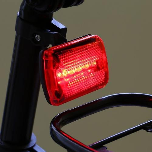 Luces traseras bicicleta led 7 modos brillante seguridad