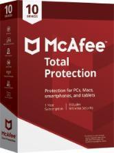 Mcafee total protection 2019 para 10pc por 1 año