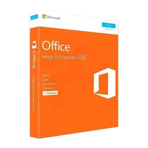 Office hogar y empresas 2016 32-64 bits fpp esd