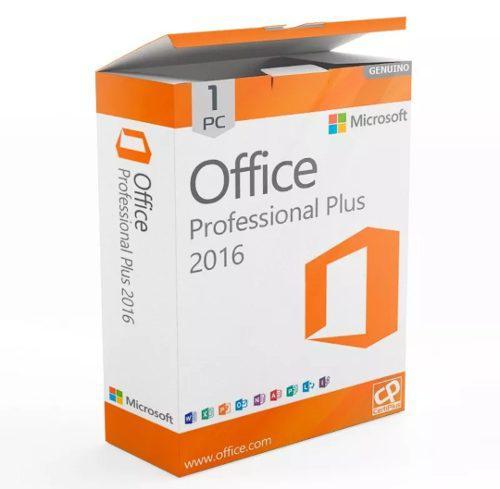 Office profesional pro 2016 licencia original 1 pc retail