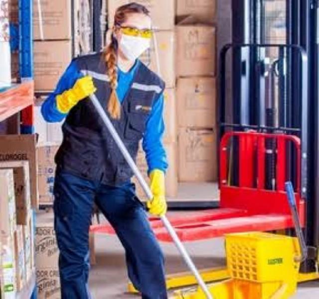 Personal fem. limpieza oficina y planta