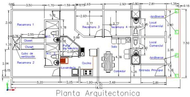Planos de arquitectura,eléctricos,estructuras,sanitarios