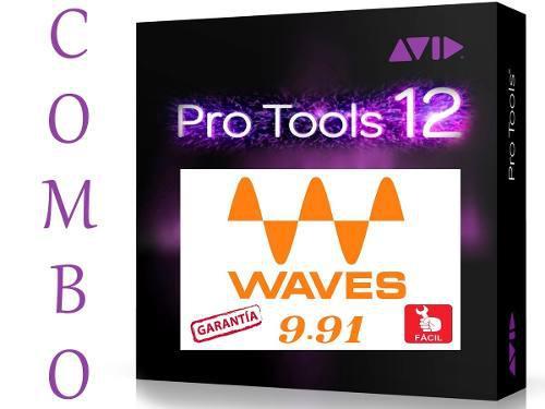 Pro tools hd 12.5 + todos los plugins waves | pc | inmediato