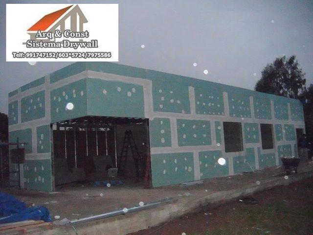 Se brinda servicios de instalaciones drywall arq & const