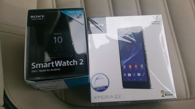 Venta de sony xperia z2 20.7mp 4g con smartwatch