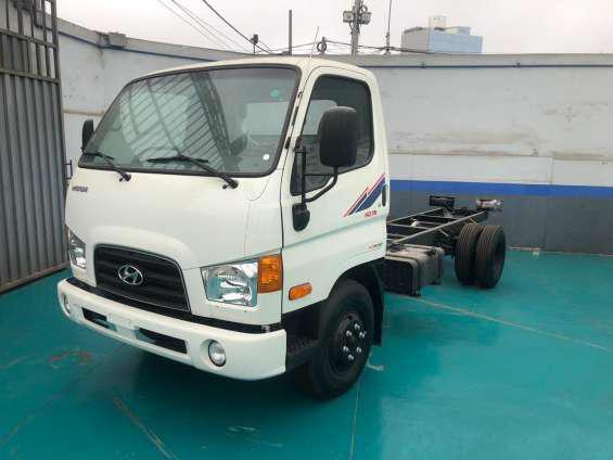 Venta de camiones hyundai en Lima