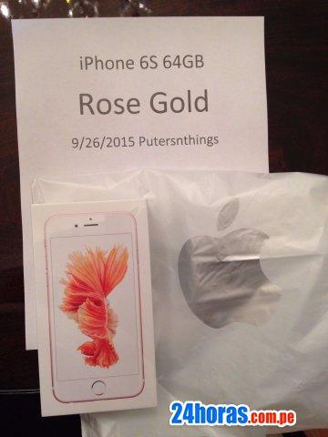 Iphone de apple 6s -6s plus (desbloqueado) / sony ps4