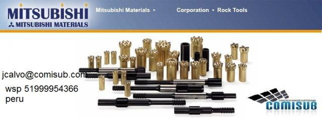 Aceros De Perforación Mitsubishi Brocas Barras Shanck