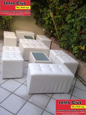 Alquiler muebles lounge toldos sillas mesas