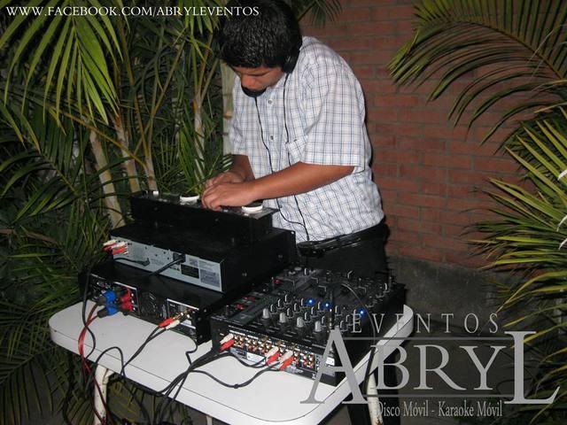 Alquiler de sonido y dj para todo tipo de fiestas y eventos
