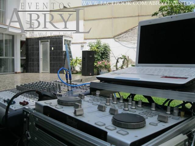 Alquiler de sonido y dj profesional