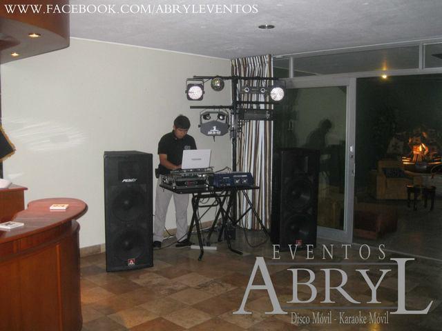 Alquiler de sonido y dj para fiestas y eventos sociales