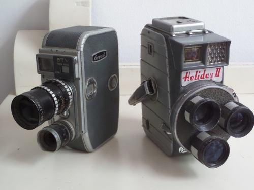 Antiguas Camaras Filmadoras Vintage