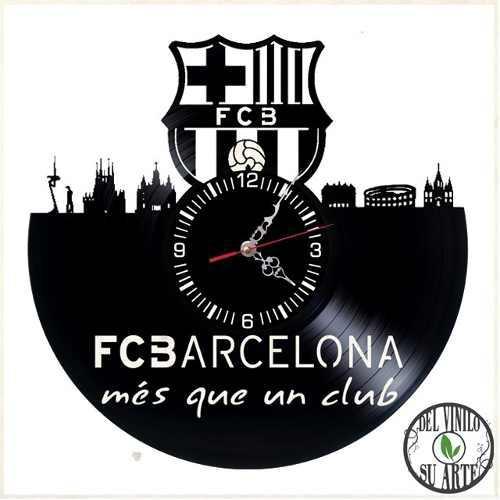 Barcelona 02 reloj de pared y escritorio delivery futbol