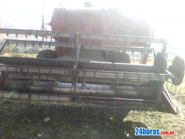 Cosechadora de grano