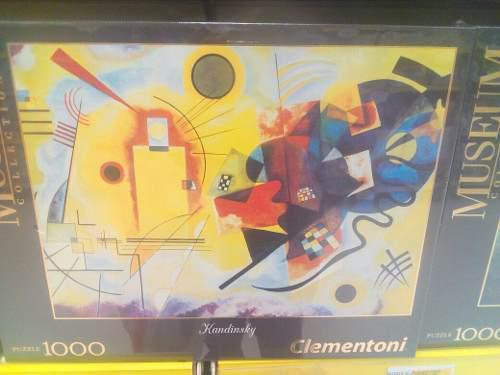 Clementoni 1000 piezas obras de arte. piezas museo.