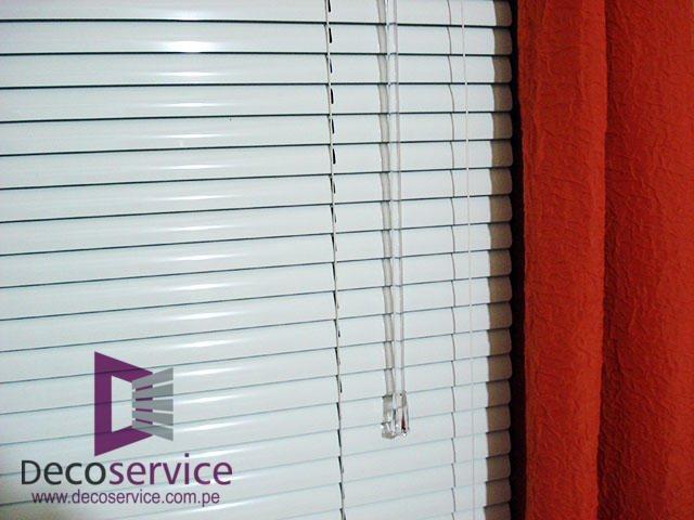 Confección de persianas para residencias y oficinas