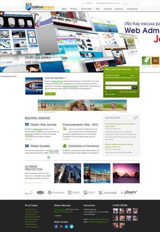 Diseño web joomla lima