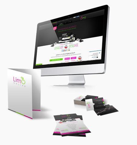 Diseño de páginas web auto administrables limo online