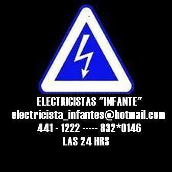 """Electricistas """"quitayo """" en san isidro las 24 hrs"""