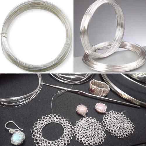 Hilos de plata 999.99 artesano peruano joyero artesania joya