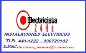 Instalaciones eléctricas en san borja