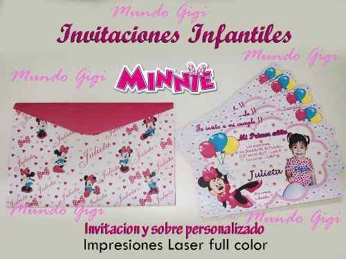 Invitaciones Tarjetas De Cumpleaños Personalizadas En Peru