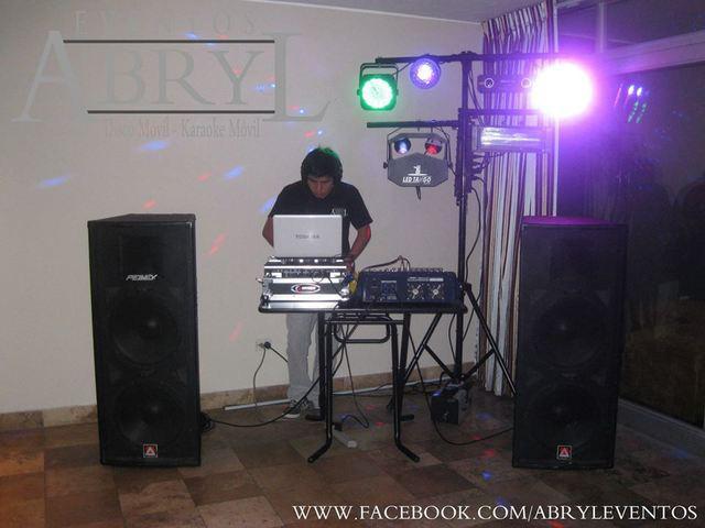 Luces, dj y sonido para todo tipo de fiestas y eventos