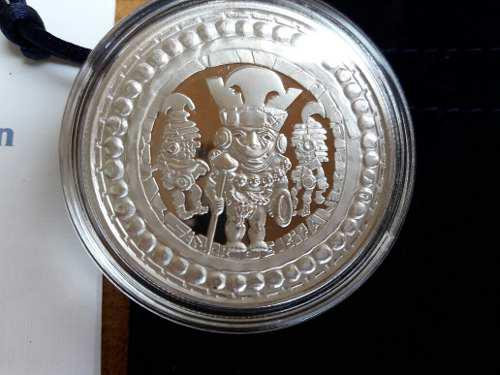 Moneda conmemorativa señor de sipan