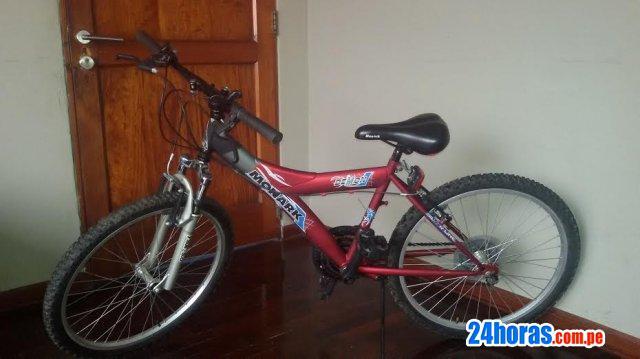 No te la pierdas! vendo bicicleta monark hombre como nueva!