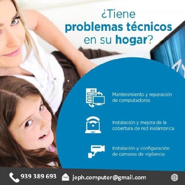 Servicio tecnico pc laptops impresoras chorrillos - surco