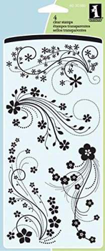 Sellos modelo: florecer 4 piezas