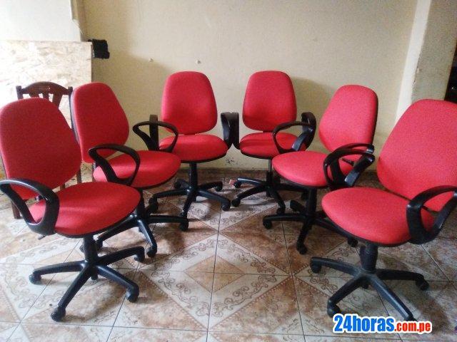 Seis sillas oficinas 【 ANUNCIOS Junio 】 | Clasf