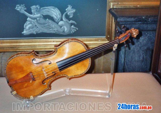 Violin 4/4 profesional de concierto hecho a mano en rusia