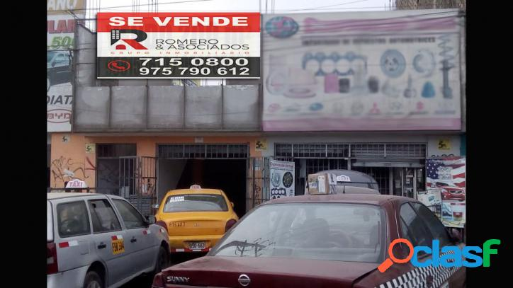 Venta de local comercial en san juan de miraflores- 00545