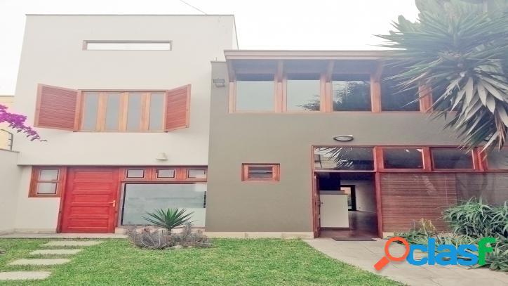Venta de hermosa casa en miraflores - 00617