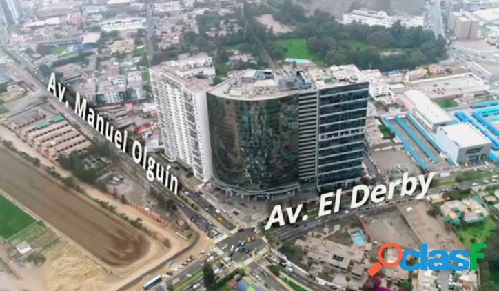 En venta gran terreno para proyecto residencial de lujo en zona consolidada distrito de surco