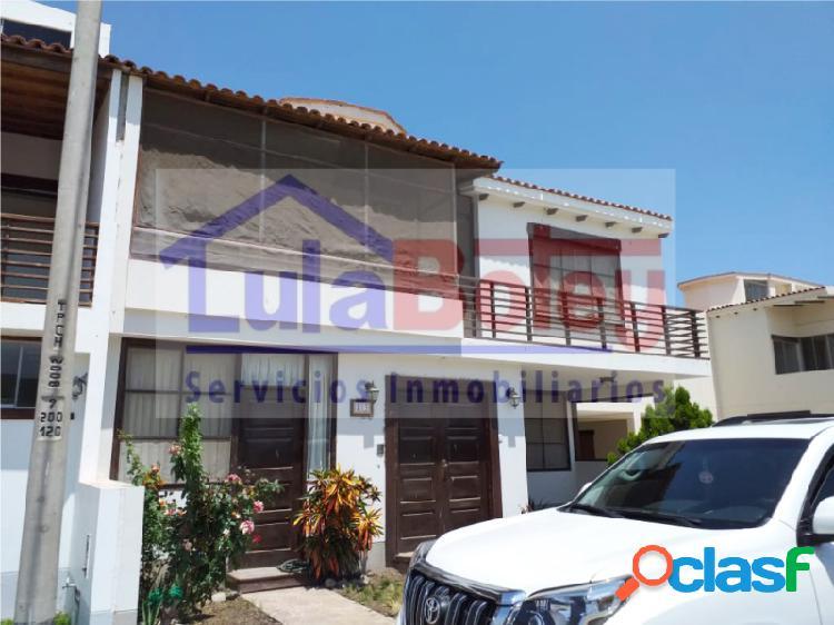 ALQUILO CASA AMOBLADA EN ALAMEDA COUNTRY CLUB