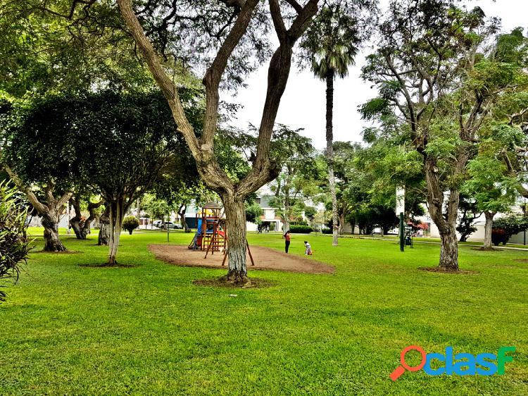 Departamento en venta en san isidro exclusivo estreno 3 dormitorios frente parque