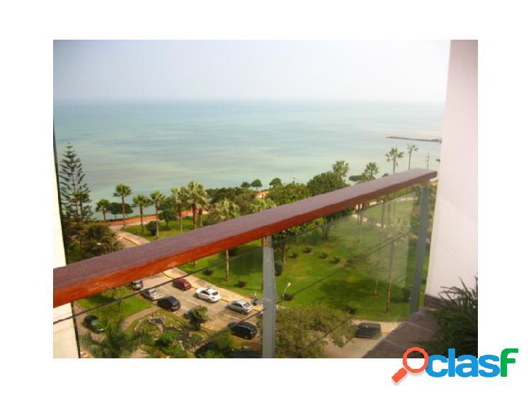 Penthouse en alquiler en miraflores hermosa vista parcial al mar 2 dormitorios terrazas