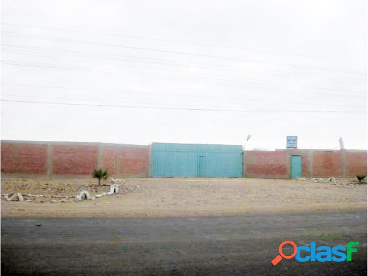 Venta de terreno industrial en pisco - paracas - frente al mar
