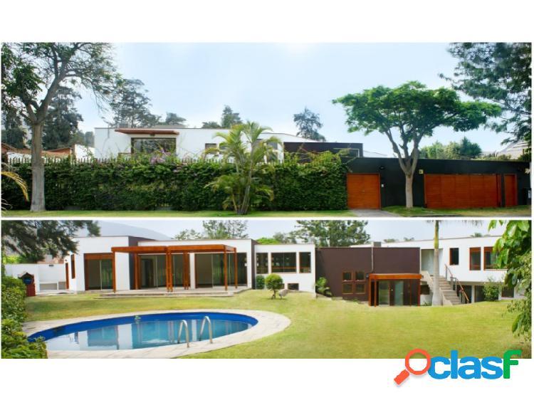 Casa en venta en la molina - exclusiva zona de la planicie 4 dormi