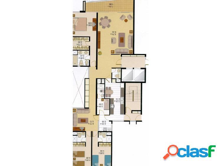 Departamento en Alquiler en Miraflores Hermoso 3 dormitorios Amoblado Vista Mar 1