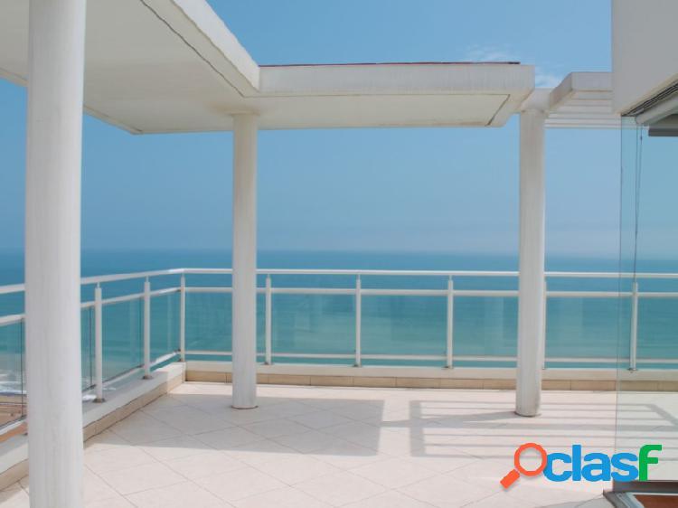 Penthouse en venta en magdalena - vista al mar 3 dormitorio terrazas