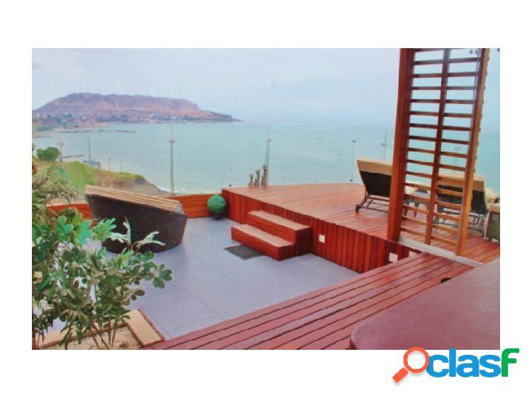 Penthouse en venta en miraflores- malecón vista al mar 4 dormitorios terrazas